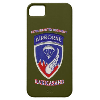 187th Infantry Regiment iPhone SE/5/5s Case