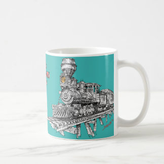 1880 Baldwin 2-8-0 Coffee Mug
