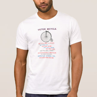 1880 Bicycle Poster T-Shirt
