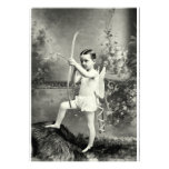 1880 Cupid at Work Custom Invitations