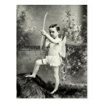 1880 Cupid at Work Postcard