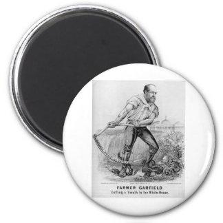 1880 Garfield 2 Inch Round Magnet