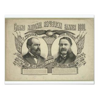 1880 Garfield - Arthur Card