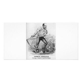 1880 Garfield Personalized Photo Card