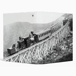 1880 Passengers trains at work Binder