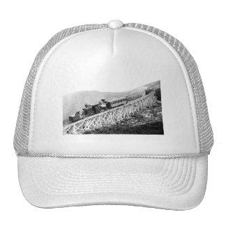 1880 Passengers trains at work Trucker Hat