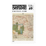 1880 Progress Map of The US Geographical Surveys Postage