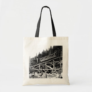 1880 Railroad Train Cloud Tote Bag