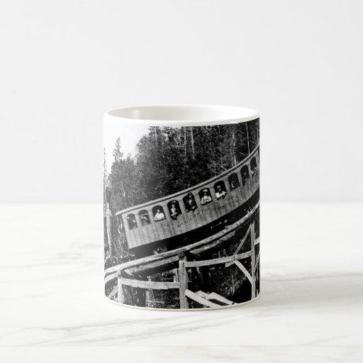 1880 Railroad Train ' Cloud ' Coffee Mug