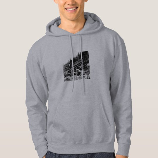 1880 Railroad Train ' Cloud ' Hoodie