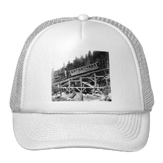1880 Railroad Train ' Cloud ' Trucker Hats