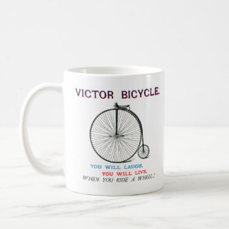 1880 Victor Bicycle Poster Coffee Mug