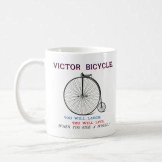 1880 Victor Bicycle Poster Coffee Mug
