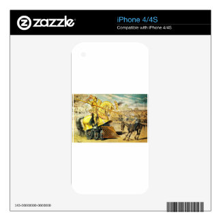 1880s A Tournament of Today Puck Graetz Skin For The iPhone 4S