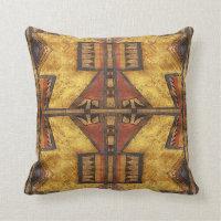 1880's Cheyenne Parfleche  pillow design