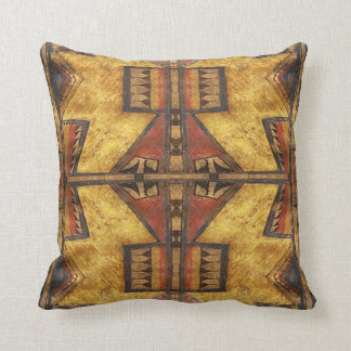 1880's Cheyenne Parfleche  pillow design