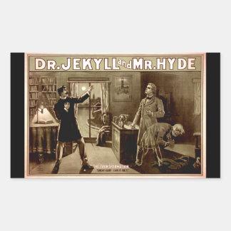 1880s del Dr. Jekyll y de Sr. Hyde Vintage Rectangular Altavoz