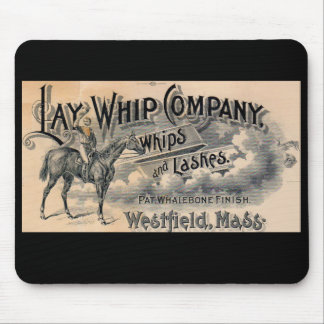 1880s Lay Whip Company billhead Mouse Pad