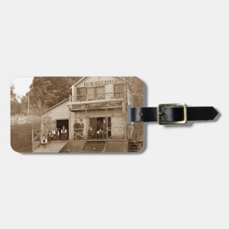1880's Men Club Fox River Club Fishing Elgin Bag Tag