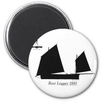 1881 Beer Lugger - tony fernandes Magnet