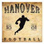 1881 Hanover New Hampshire Football Photo