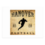 1881 Hanover New Hampshire Football Postcard