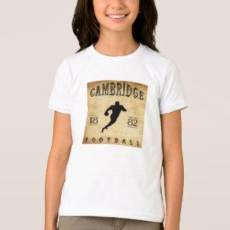 1882 Cambridge Massachusetts Football T-Shirt