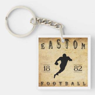 1882 Easton Pennsylvania Football Double-Sided Square Acrylic Keychain