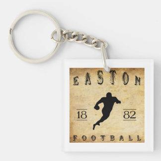 1882 Easton Pennsylvania Football Single-Sided Square Acrylic Keychain