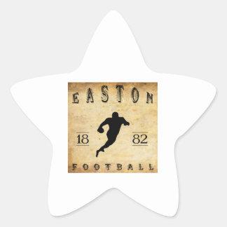 1882 Easton Pennsylvania Football Star Sticker
