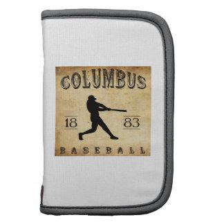 1883 Columbus Ohio Baseball Organizer