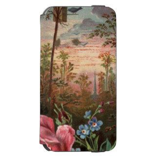 1883: Flores de las maderas Funda Billetera Para iPhone 6 Watson