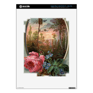 1883: Flowers of the woods Decals For iPad 3