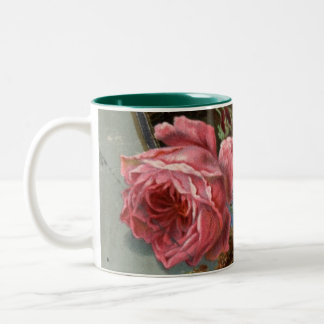 1883: Flowers of the woods Two-Tone Coffee Mug