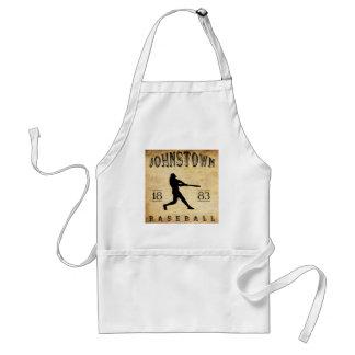 1883 Johnstown Pennsylvania Baseball Adult Apron