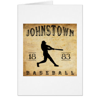 1883 Johnstown Pennsylvania Baseball Card