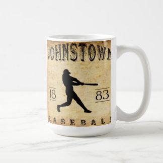 1883 Johnstown Pennsylvania Baseball Classic White Coffee Mug
