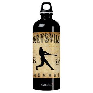 1883 Marysville California Baseball Water Bottle
