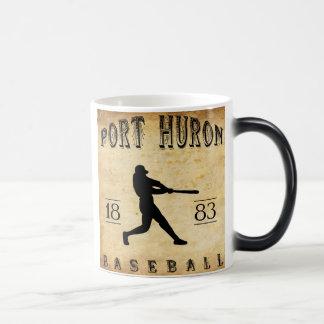 1883 Port Huron Michigan Baseball Magic Mug