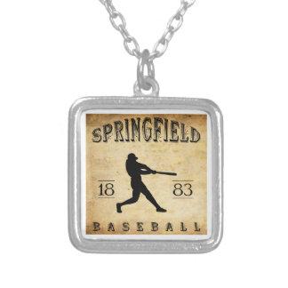 1883 Springfield Illinois Baseball Custom Jewelry