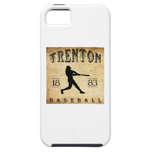 1883 Trenton New Jersey Baseball iPhone 5 Covers