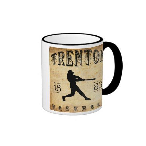 1883 Trenton New Jersey Baseball Mugs