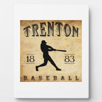 1883 Trenton New Jersey Baseball Photo Plaques