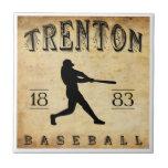 1883 Trenton New Jersey Baseball Tiles