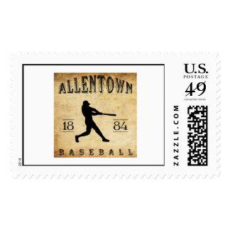 1884 Allentown Pennsylvania Baseball Postage