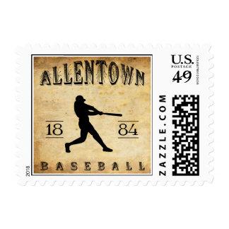 1884 Allentown Pennsylvania Baseball Stamps