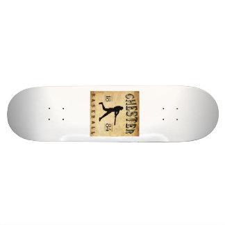 1884 Chester Pennsylvania Baseball Skate Board