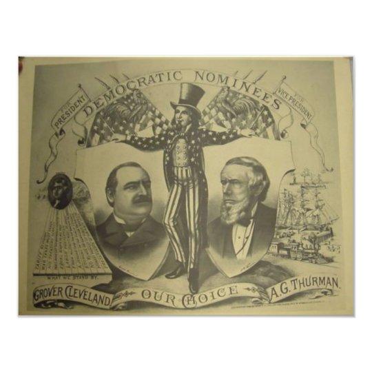 1884 Cleveland - Thurman Card