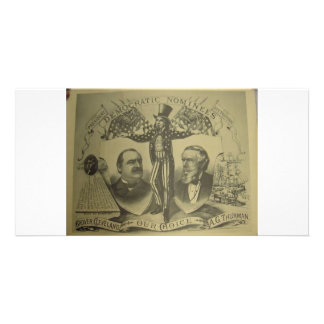 1884 Cleveland - Thurman Personalized Photo Card
