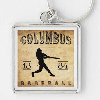 1884 Columbus Georgia Baseball Key Chains